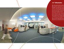 GESOBAU AG Nachhaltigkeitsbericht 2012 – Printpanoramen, Luftpanorama mit Mikrokopter