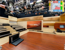 Studio Berlin Adlershof – Interaktive Panoramen mit Grundrissen der Film- und Fernsehstudios